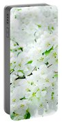 Blossoms Squared Portable Battery Charger