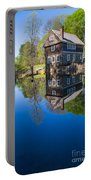 Blow Me Down Mill Cornish New Hampshire Portable Battery Charger by Edward Fielding
