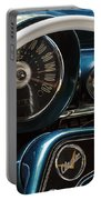 Blue '59 Classic Dash Portable Battery Charger