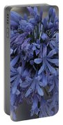 Blue Agapanthus Portable Battery Charger