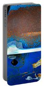 Blue And Rusty Picking Portable Battery Charger