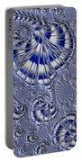Blue And Silver 1 Portable Battery Charger