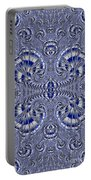 Blue And Silver 3 Portable Battery Charger