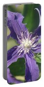 Blue Angel Clematis Close   # Portable Battery Charger