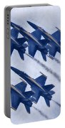 Blue Angels Fa 18 V19 Portable Battery Charger