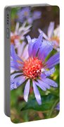 Blue Asters 3 Portable Battery Charger
