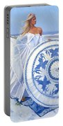 Blue Berry Beach  Portable Battery Charger