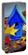 Blue Bird House Portable Battery Charger