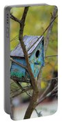 Blue Birdhouse Portable Battery Charger