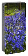 Blue Blue Bells Portable Battery Charger