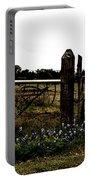 Blue Bonnet Fence V4 Portable Battery Charger