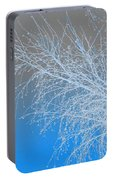 Blue Branches Portable Battery Charger