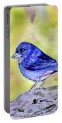 Blue Chaffinch Portable Battery Charger