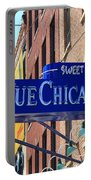 Blue Chicago Club Portable Battery Charger