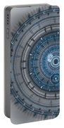Blue Clockwork Machine Portable Battery Charger