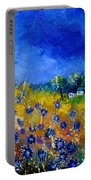 Blue Cornflowers 774180 Portable Battery Charger