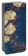 Blue Cream Portable Battery Charger
