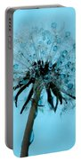 Blue Dandelion Wish Portable Battery Charger
