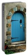 Blue Door In Baltimore Portable Battery Charger