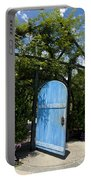 Blue Door To Childrens Garden Huntington Library Portable Battery Charger