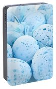 Blue Easter Eggs Portable Battery Charger