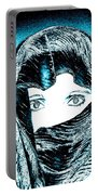 Blue Eye Lady Portable Battery Charger