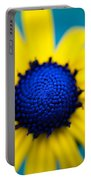 Blue Eyed Susan Portable Battery Charger