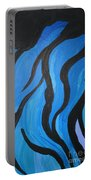Blue Flames Of Healing Portable Battery Charger