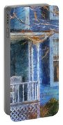 Blue Front Porch Photo Art 01 Portable Battery Charger