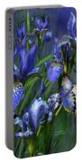 Blue Goddess Portable Battery Charger