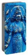 Blue Goddess Portable Battery Charger