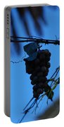 Blue Grapes Portable Battery Charger