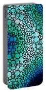 Blue Green Energy - Stone Rock'd Art Panting Portable Battery Charger