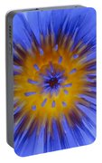 Blue Heart Portable Battery Charger
