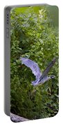 Blue Heron Journey I Portable Battery Charger