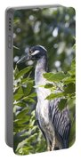 Blue Heron Profile Portable Battery Charger