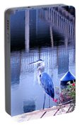 Blue Heron Reflections Portable Battery Charger
