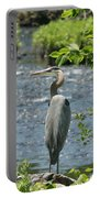 Blue Heron River Fishing  Portable Battery Charger