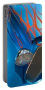 Blue Hot Rod Portable Battery Charger