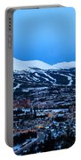 Blue Hour In Breckenridge Portable Battery Charger