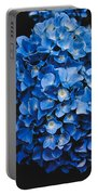 Blue Hydrangea 1 Portable Battery Charger