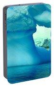 Blue Iceberg Antarctica Portable Battery Charger