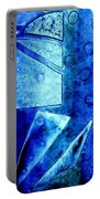 Blue   II Portable Battery Charger