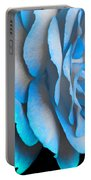 Blue Impatience Portable Battery Charger