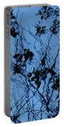 Blue Ink Portable Battery Charger