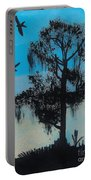 Blue Kite Sunset Portable Battery Charger