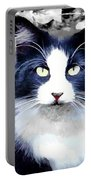 Blue Kitty Two Portable Battery Charger