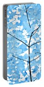 Blue Leaves Melody Portable Battery Charger