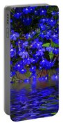 Blue Lobelia Portable Battery Charger