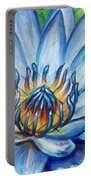 Blue Lotus Portable Battery Charger